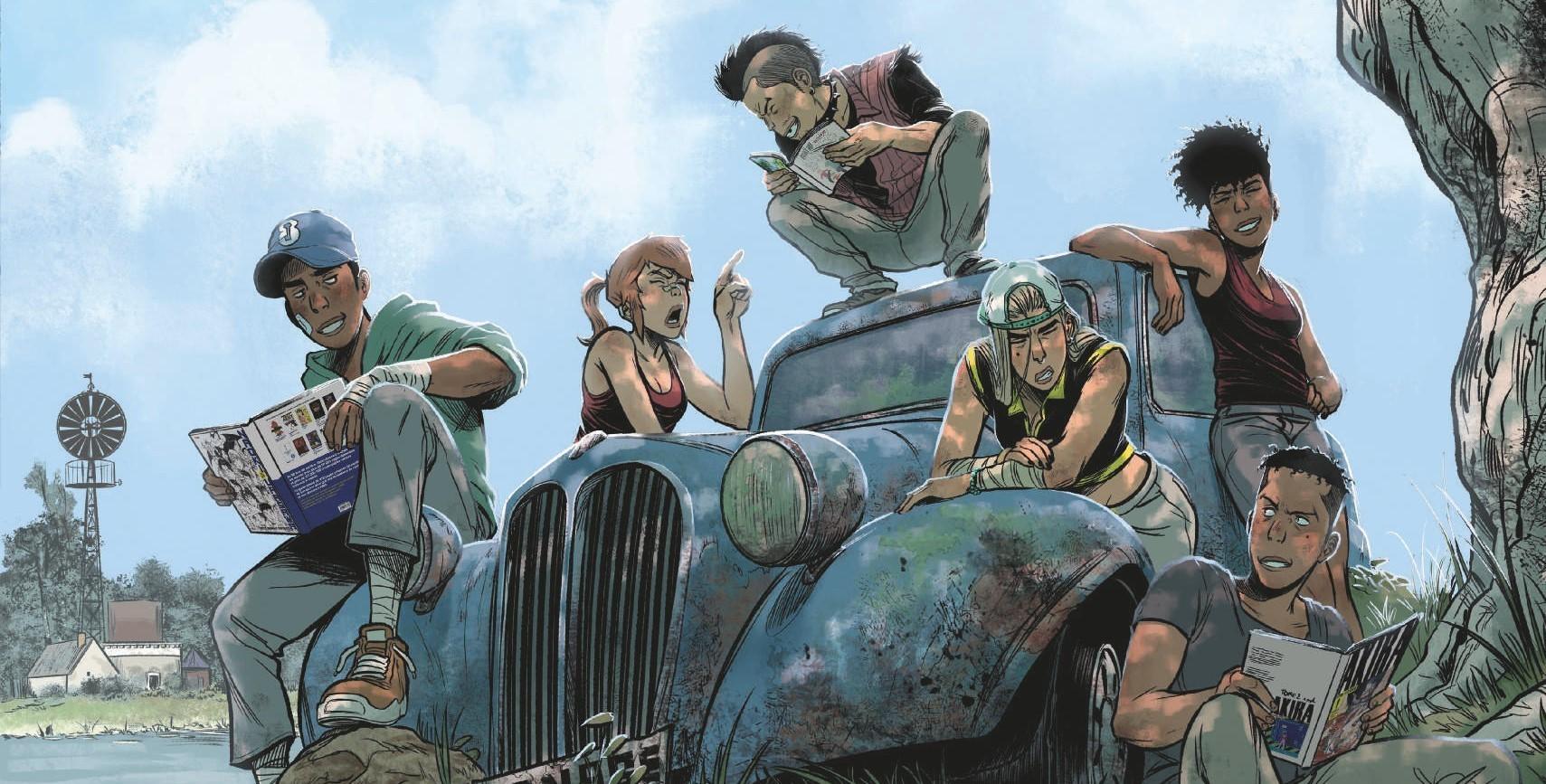 Forum de la BD : dédicace du dessinateur de Green Class, exposition Yakari et jeu de piste !