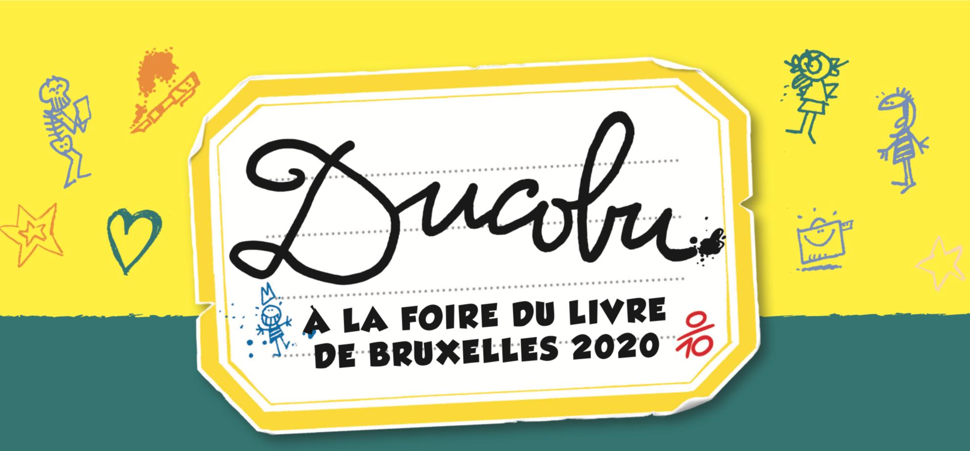 Le Lombard vous donne rendez-vous à la Foire du Livre de Bruxelles édition 2020