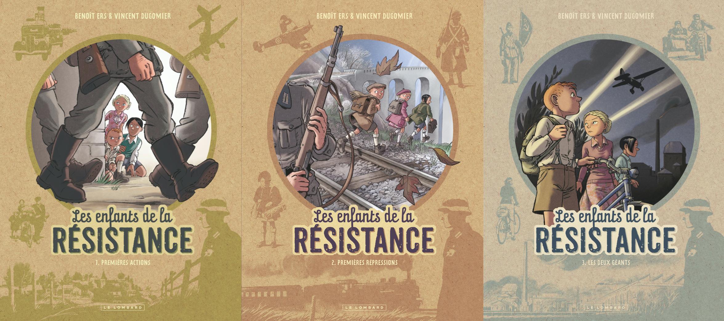 Dédicace de Vincent Dugomier, scénariste des Enfants de la résistance, à MaquiStory