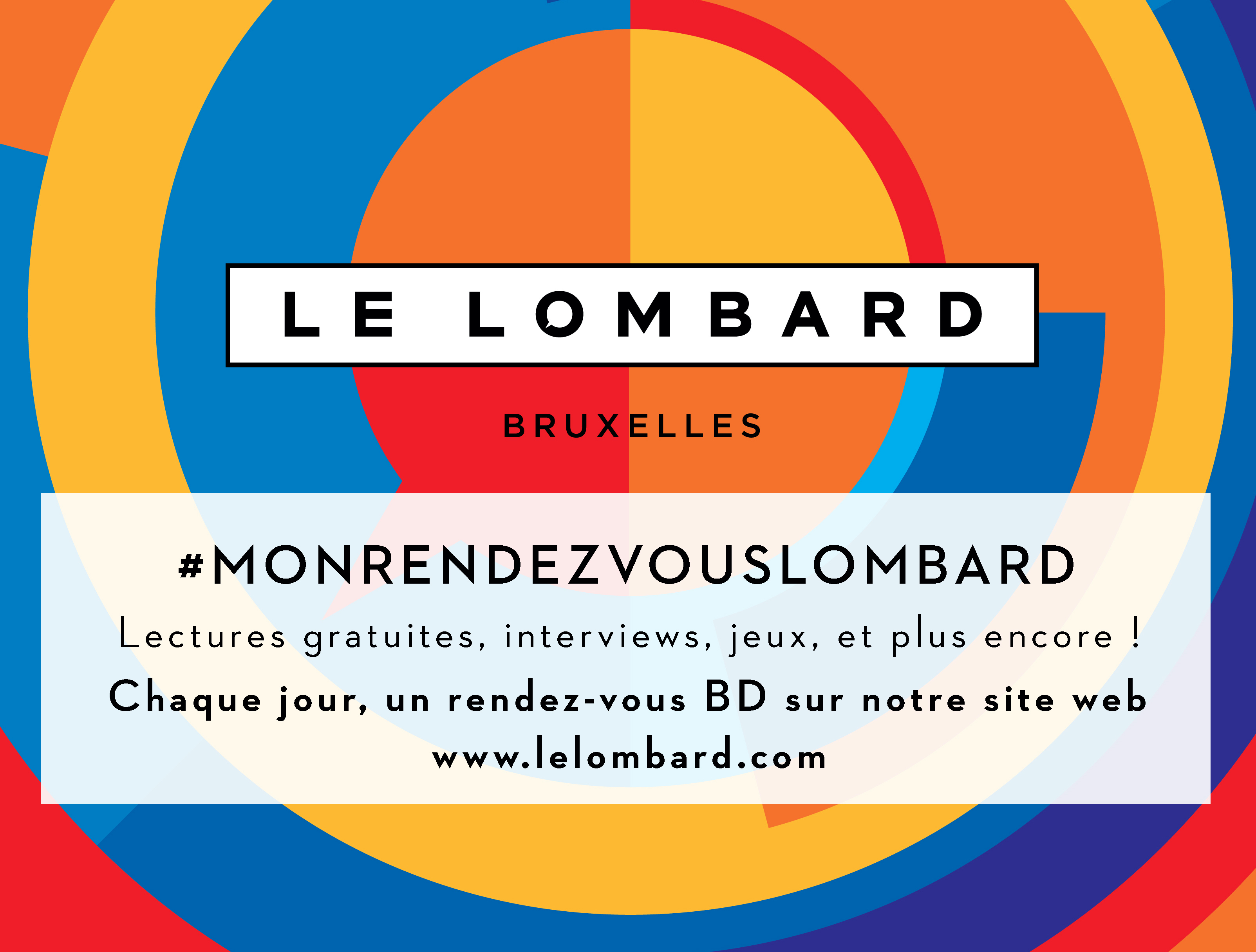 #MonRendezVousLombard - Chaque jour, un rendez-vous BD