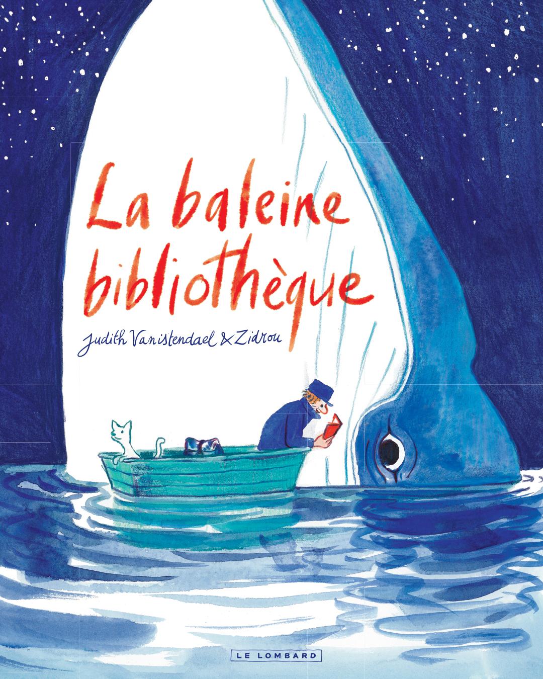 Dédicace :Judith Vanistendael & Zidrou (La Baleine Bibliothèque)