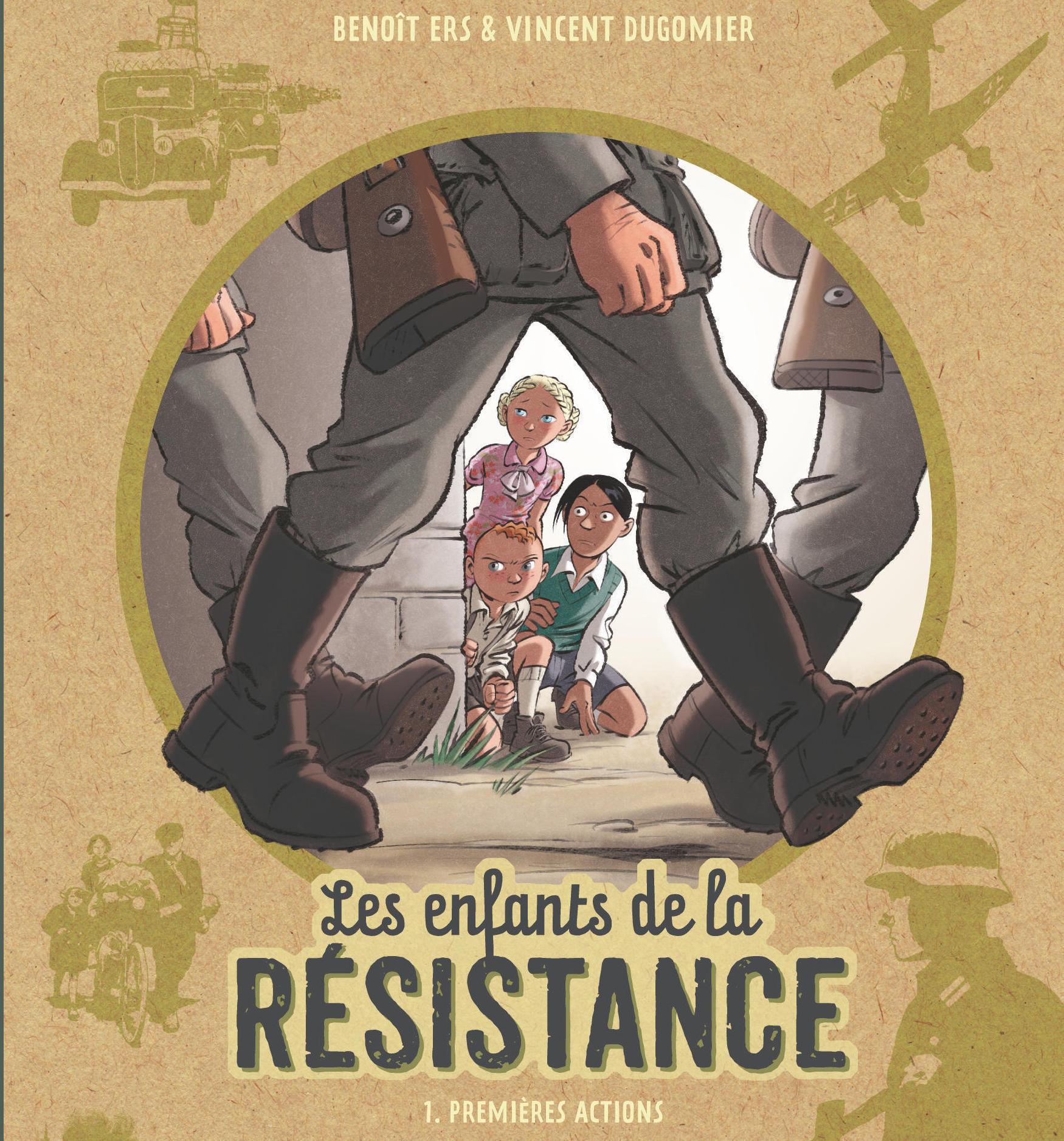 Concours - Remportez l'intégralité de la série Les Enfants de la Résistance, ainsi que les deux romans jeunesse adaptés de la série !