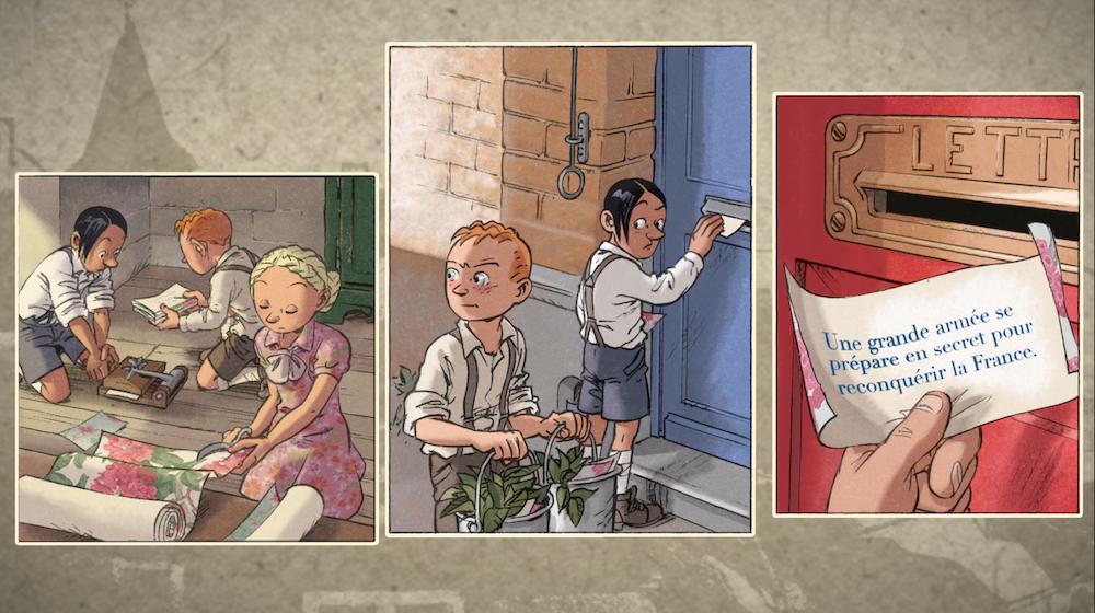 Le jeu de piste Les Enfants de la Résistance s'invite dans votre salon !