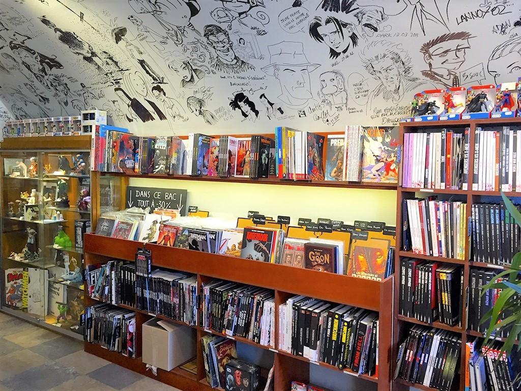 Dimitri Armand et David Tako en dédicace à la librairie Expérience de Lyon