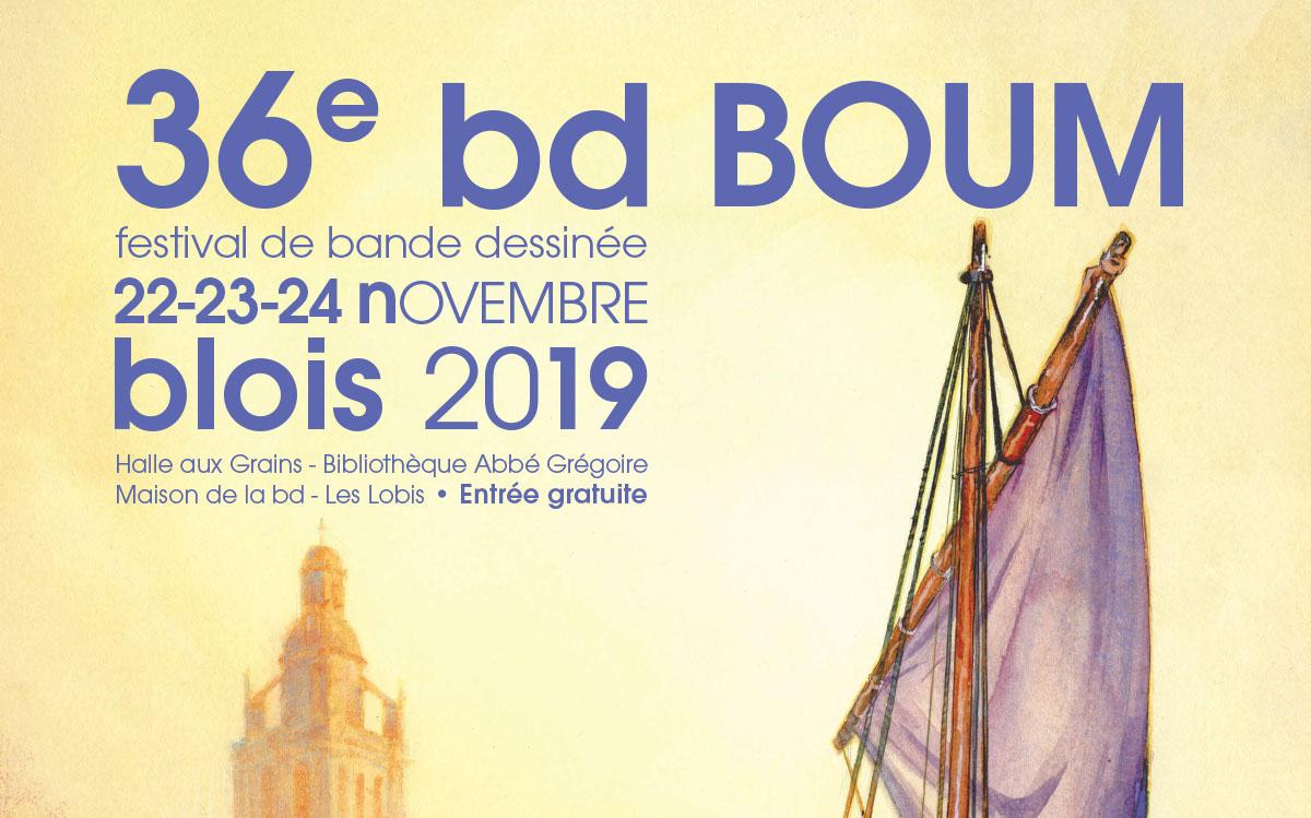 Le festival BD BOUM de Blois regorgera de nos nombreux auteurs qui sont impatient de vous rencontrer