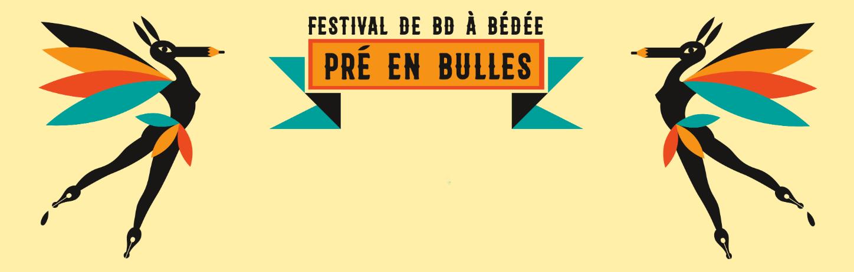 Rendez-vous au festival Pré en bulles avec nos auteurs !