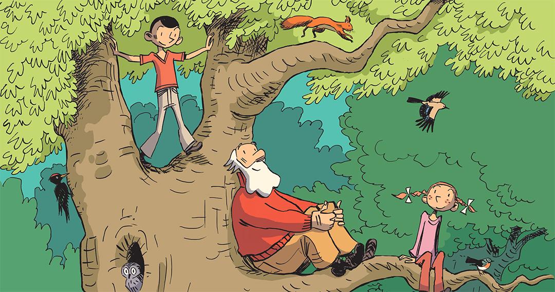 Prix du Livre Scientifique Jeunesse pour la BD Hubert Reeves nous explique la Forêt !