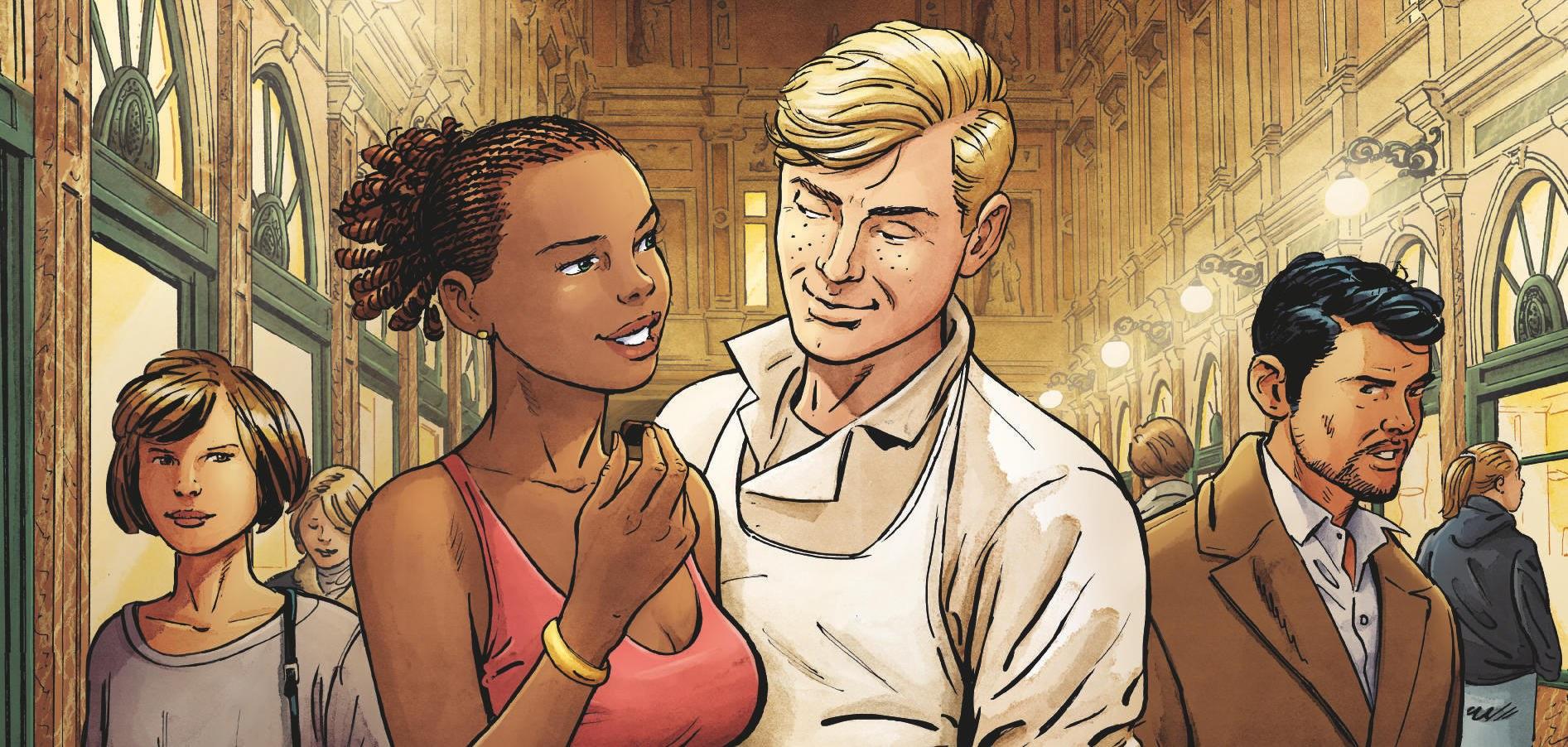 La nouvelle saga gourmande en BD par le scénariste de Chateaux Bordeaux