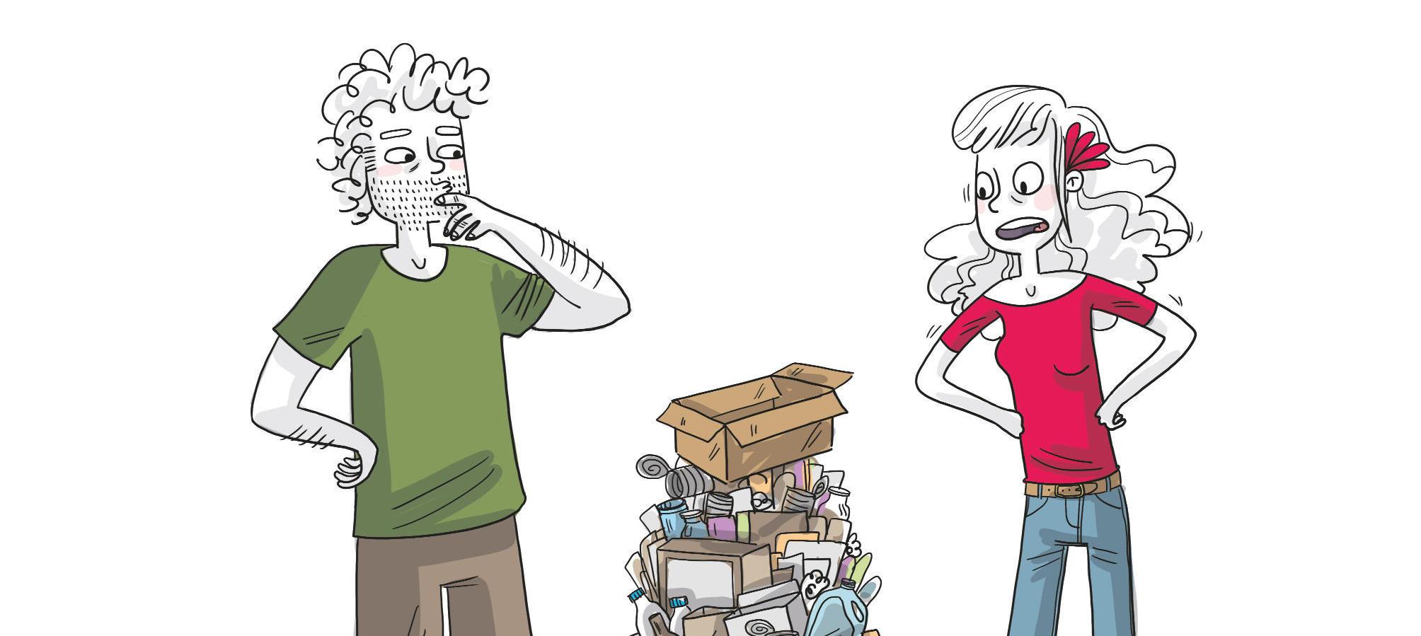 4 conseils pratiques sur le Zéro déchet en BD - avec Bénédicte Moret