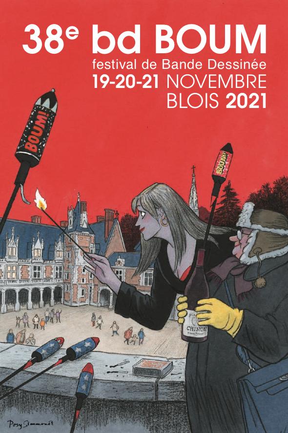 Festival : BD BOUM à Blois, 38ème édition