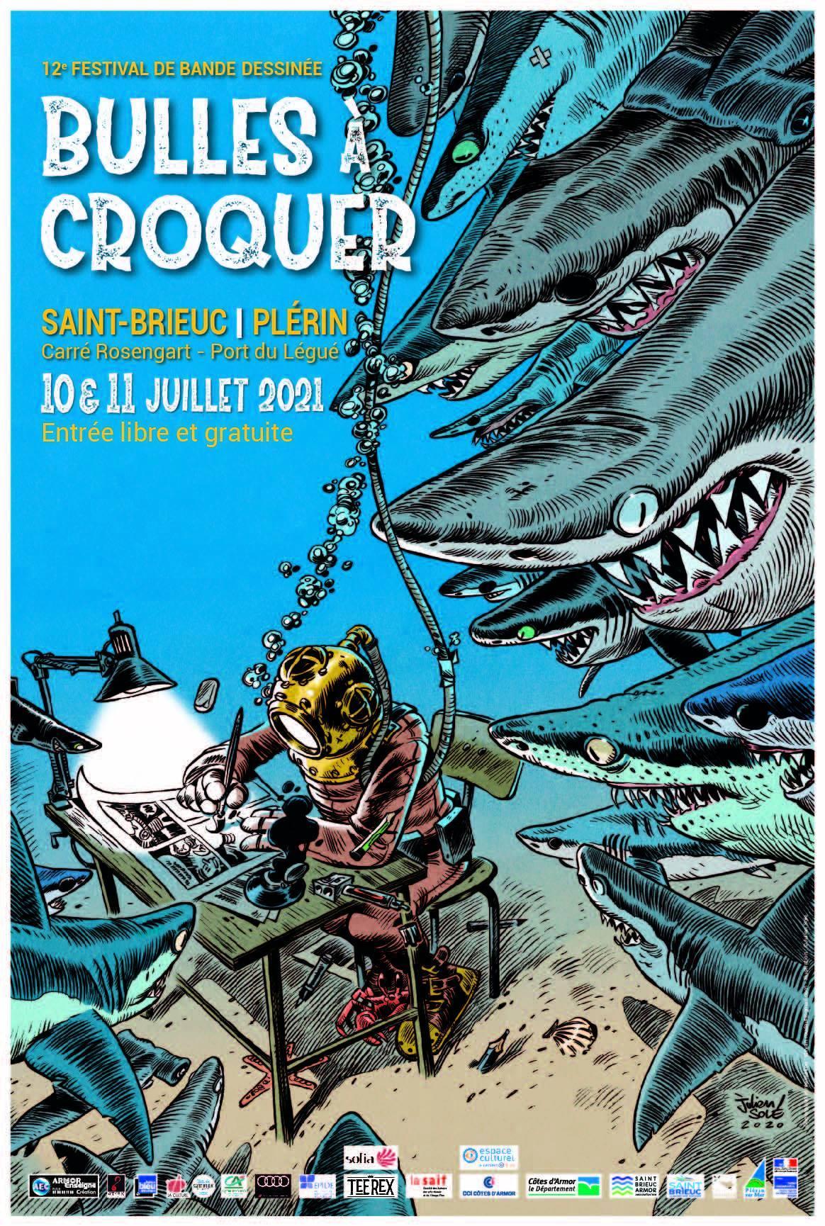 Bulles à Croquer, le festival BD de Saint-Brieuc : Julien Solé