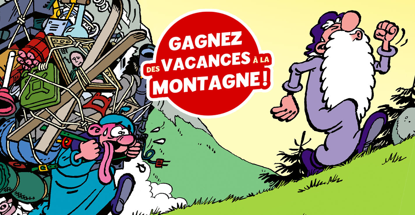 Gagnez des vacances à la montagne avec Léonard !