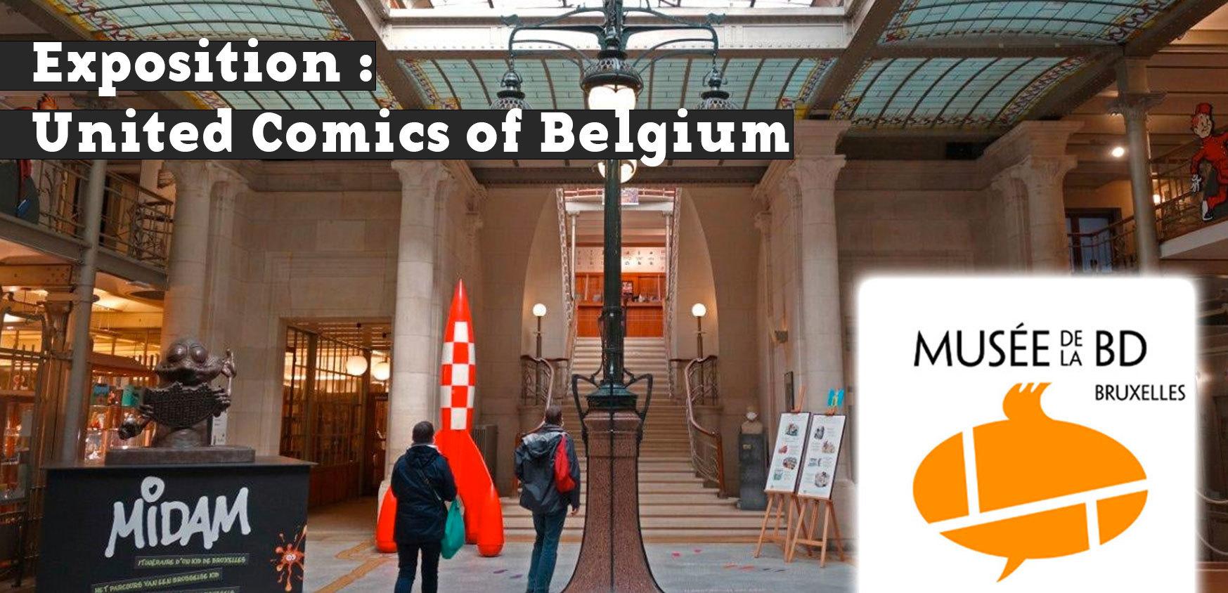 Exposition United Comics of Belgium