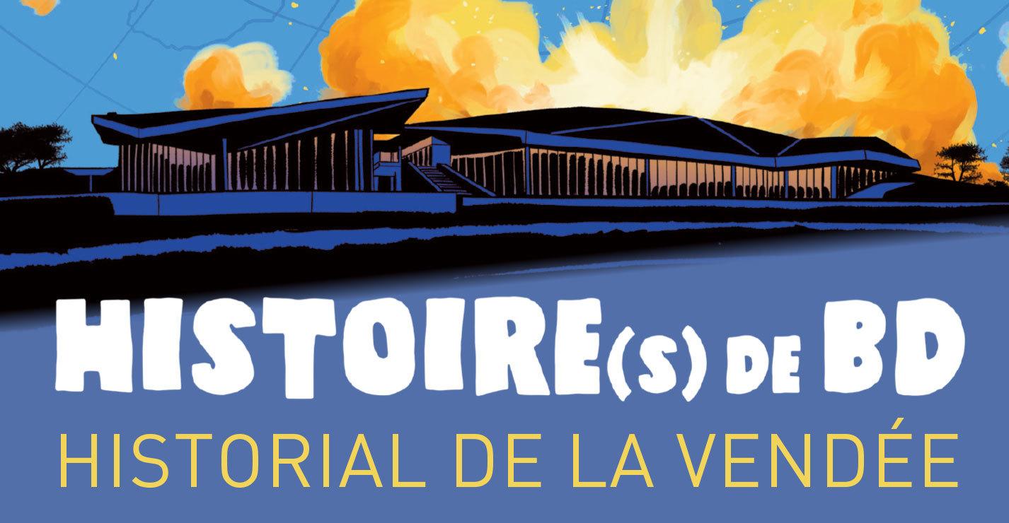 "Festival BD ""Historial de la Vendée"" : S. Spruyt, R. Efa, C. Simon; V. Brugeas"