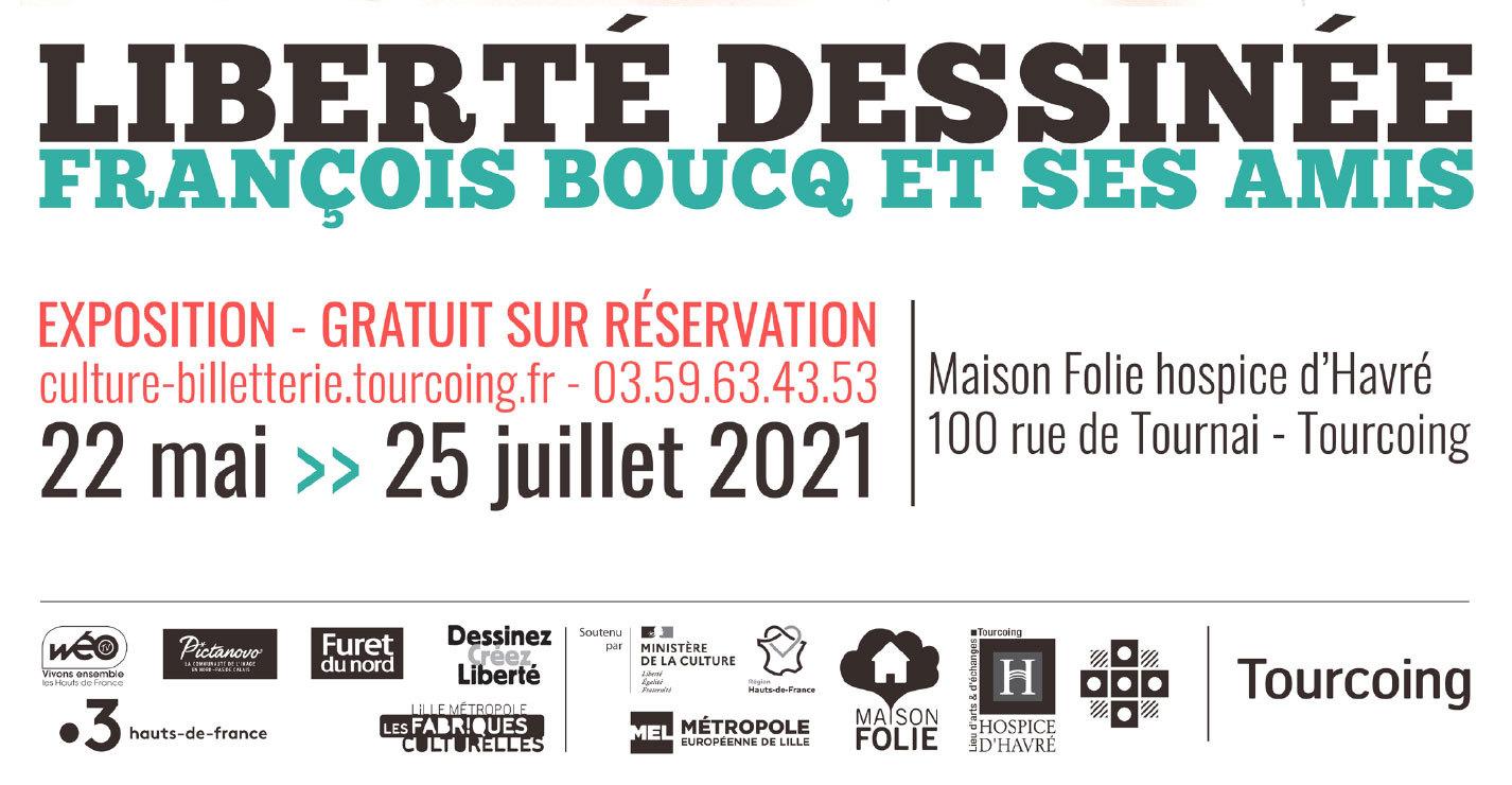 Liberté Dessinée : François Boucq et ses amis (Expo : Tourcoing)