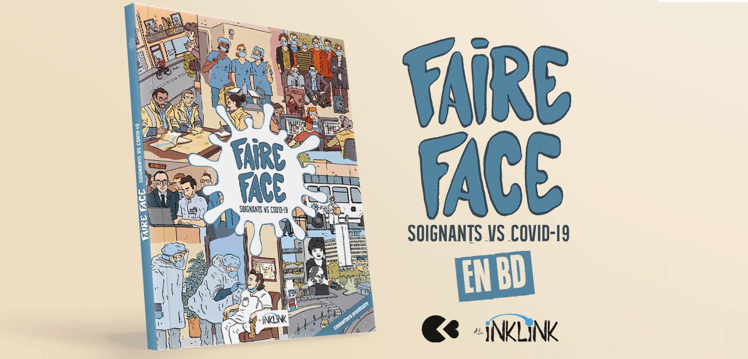 Faire Face : 22 soignants et 12 artistes contre un virus !