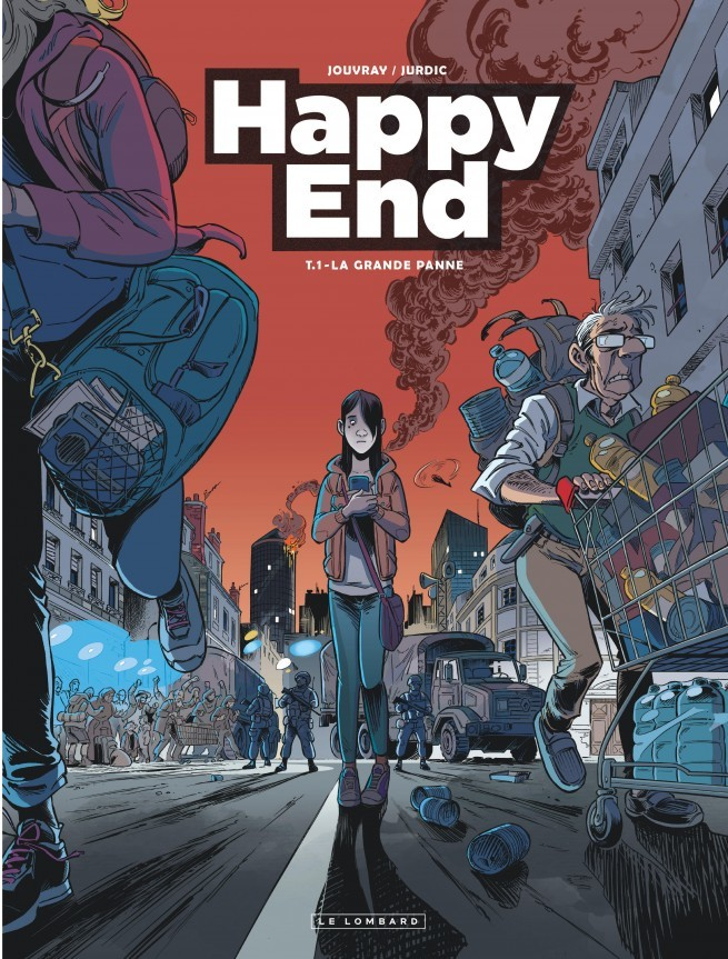 Dédicace : Olivier Jouvray & Ben Jurdic (Happy End)