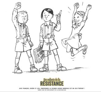 Tes coloriages Enfants de la Résistance ! 1