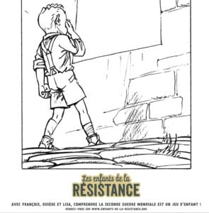 Tes coloriages Enfants de la Résistance ! 2