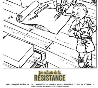 Tes coloriages Enfants de la Résistance ! 3