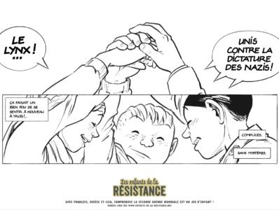 Tes coloriages Enfants de la Résistance ! 6