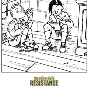 Tes coloriages Enfants de la Résistance ! 7