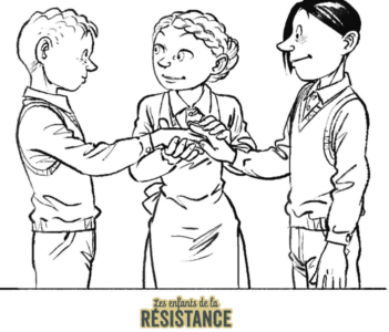 Tes coloriages Enfants de la Résistance ! 8