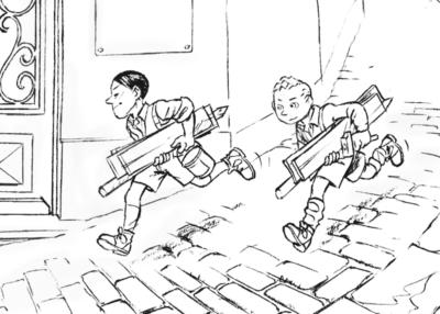 Tes coloriages Enfants de la Résistance ! 9