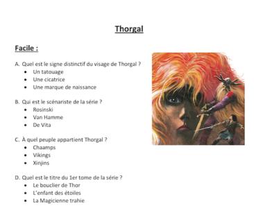 Le Quiz Thorgal