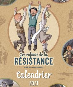 Calendrier 2021 Enfants de la Résistance !