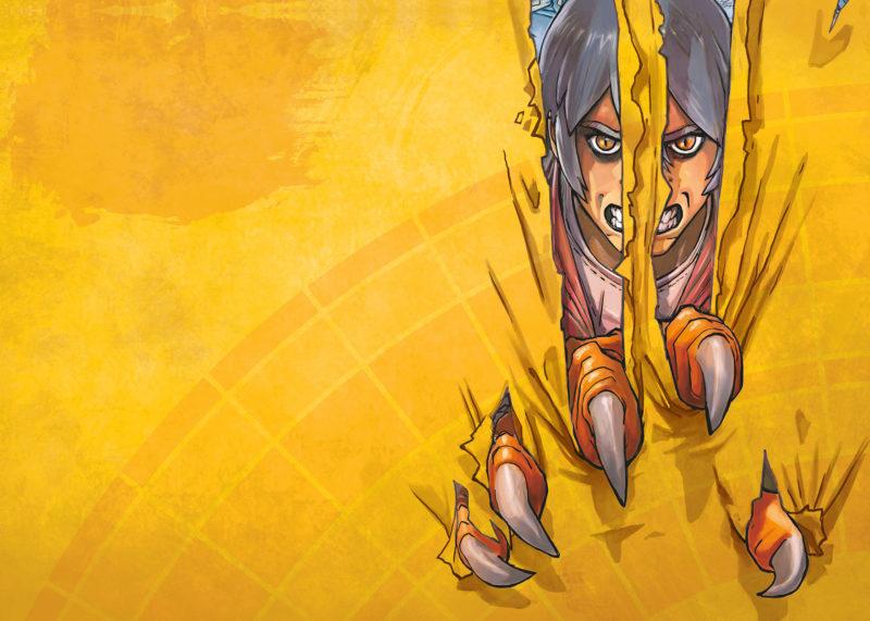 Klaw - un pur mix de comics et de manga, en bande dessinée !