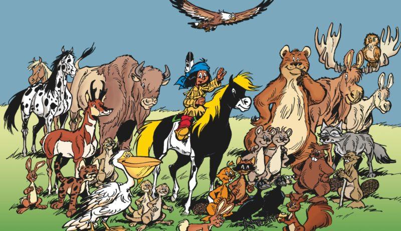 Yakari - l'ami des animaux, et le petit papoose le plus célèbre de la bande dessinée